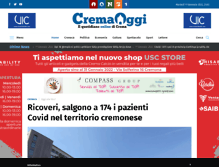 cremaoggi.it screenshot