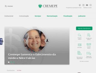 cremepe.org.br screenshot