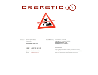 crenetic.de screenshot