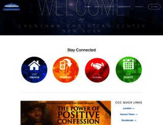 crenshawchristiancenternewyork.info screenshot