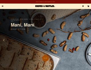 crepesywaffles.com.es screenshot