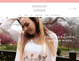 crescentcorner.com screenshot