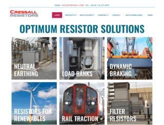 cressall.com screenshot