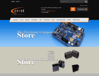 crestcomponents.com.au screenshot