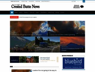 crestedbuttenews.com screenshot