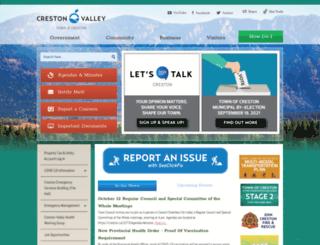creston.ca screenshot