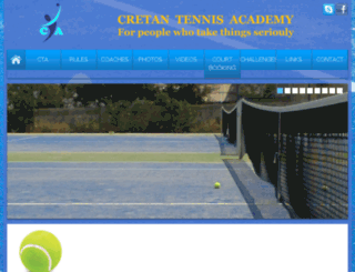 cretantennis.gr screenshot