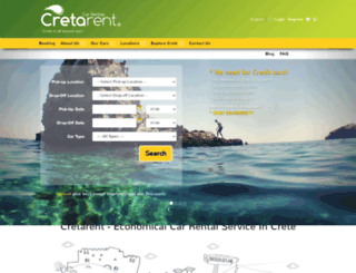 cretarent.gr screenshot