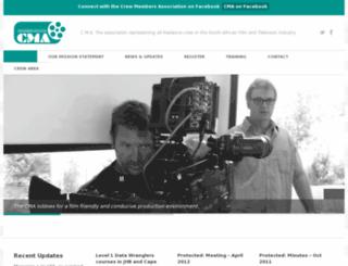 crewmembers.co.za screenshot
