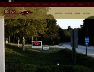 crews.org screenshot