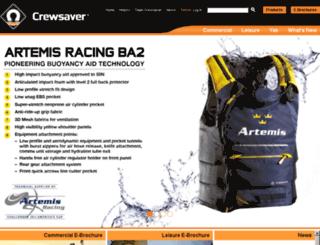 crewsaver.co.uk screenshot