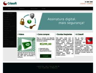criasoft.com screenshot