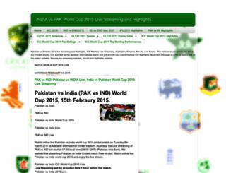 cricket-worldcup2011news.blogspot.com screenshot