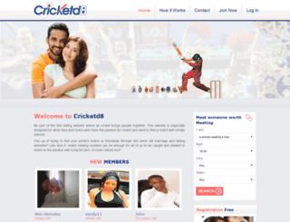 cricketd8.com screenshot