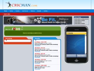 cricketidea.com screenshot