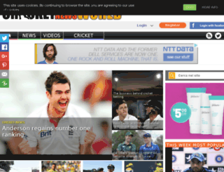cricketnewsworld.com screenshot
