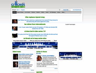 cricketnirvana.com screenshot
