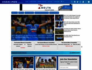 cricketnmore.com screenshot