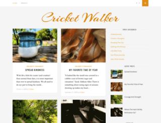 cricketwalker.com screenshot