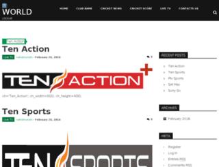 cricketworld.club screenshot