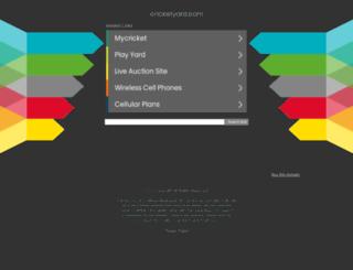 cricketyard.com screenshot