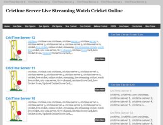 crictimemax.blogspot.com screenshot