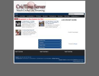 crictimeserver123.blogspot.com screenshot