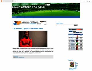 cricwc11.blogspot.com screenshot