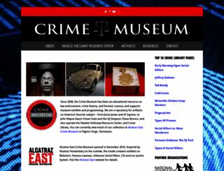 crimemuseum.org screenshot