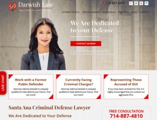 criminallawyer-orangecounty.com screenshot