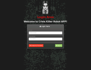 crisiskillersystem.com screenshot