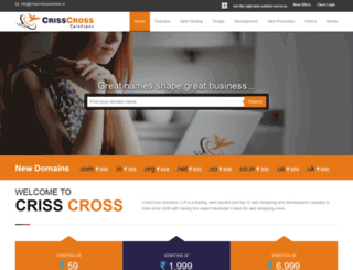 crisscrosssolutions.in screenshot