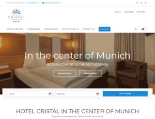 cristal-hotel.de screenshot