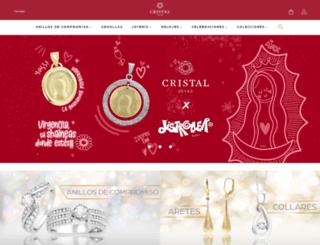 cristaljoyas.com screenshot