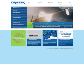 cristek.com screenshot