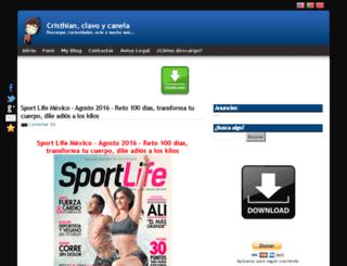 cristhianclavoycanela.blogspot.com screenshot
