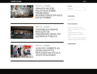 cristovam.org.br screenshot