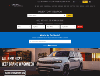criswellchryslerjeepdodge.com screenshot