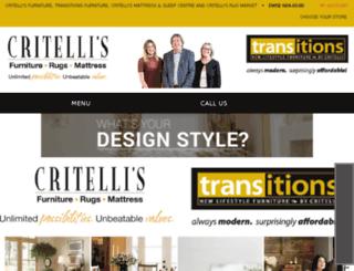critellifurniture.com screenshot