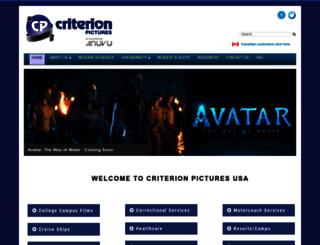 criterionpicusa.com screenshot