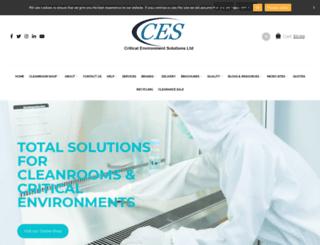 criticalenvironmentsolutions.co.uk screenshot