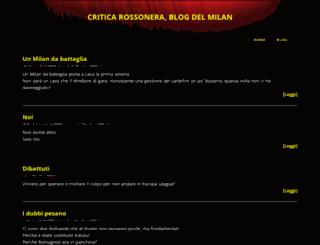 criticarossonera.blogspot.it screenshot