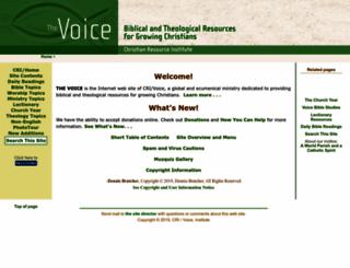 crivoice.org screenshot