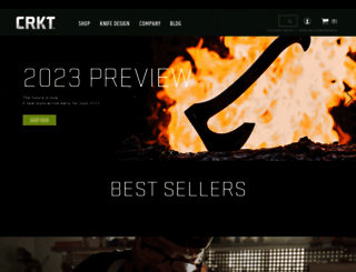 crkt.com screenshot