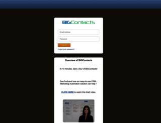 crm.bigcontacts.com screenshot