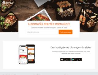 crm.just-eat.dk screenshot