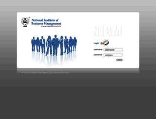 crm.nibmglobal.com screenshot