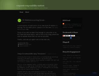 crmatters.wordpress.com screenshot