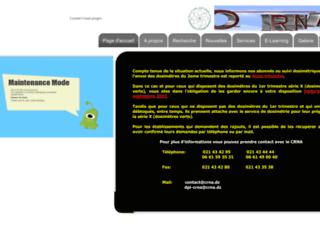 crna.dz screenshot