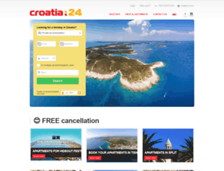 croatia24.travel screenshot